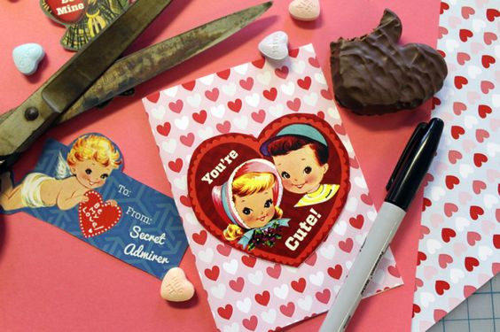 Need a quick Valentine? Try our printables, inspired by our collections!