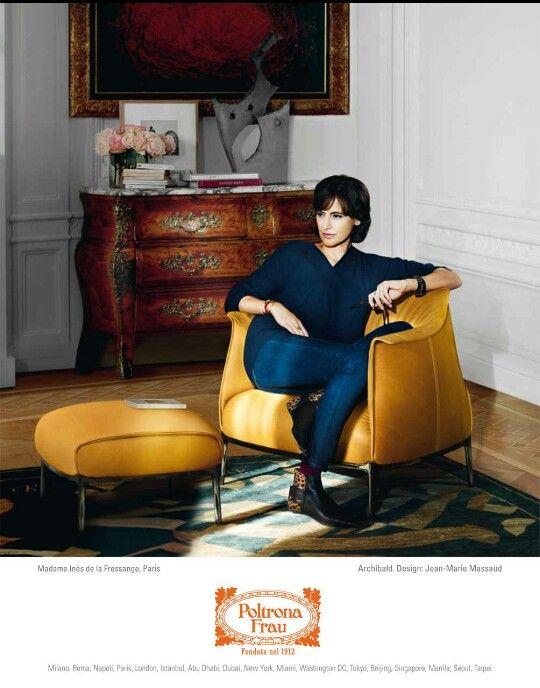 家具 ブランド イタリア メーカー ポルトローナ・フラウ レザー ソファ チェア