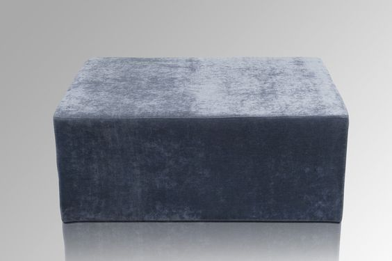 Amaris Elements Polsterhocker Square Blaugrau kaufen im borono Online Shop