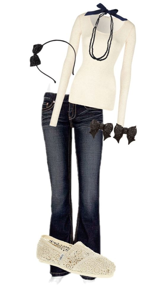 """""""bows"""" by cutiepie1024 on Polyvore"""