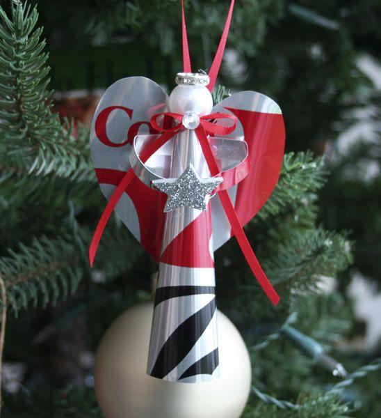 Handmade Angels, Christmas Ornament And Angel On Pinterest