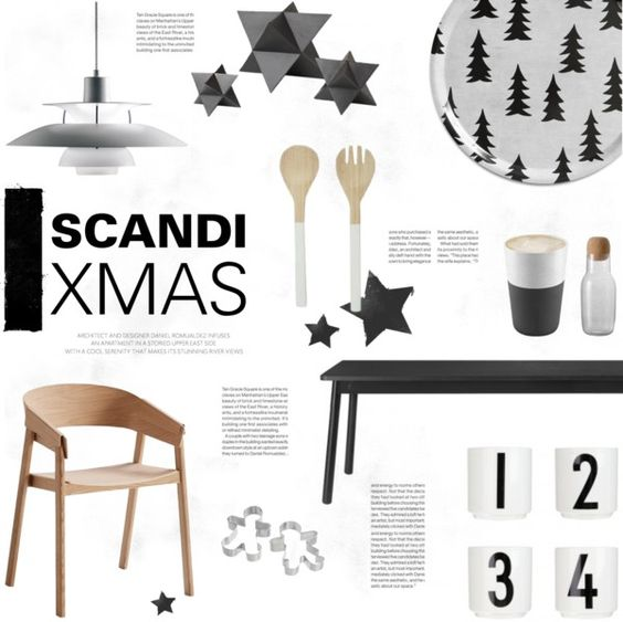 """Scandi Xmas"" by little-bumblebee ❤ liked on Polyvore"