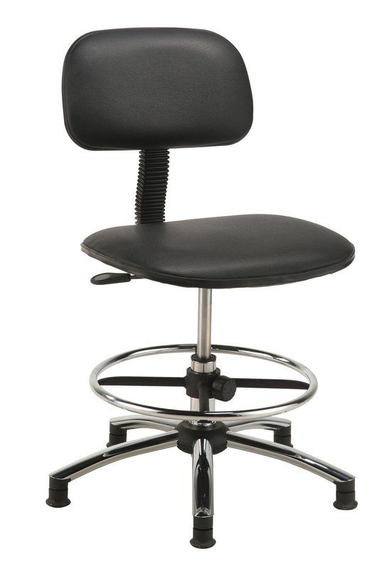 Low Back Drafting Chair Drafting Chair Chair Leather Chair With Ottoman