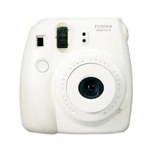 New Model Fuji Instax 8 - White - Fujifilm Instax Mini