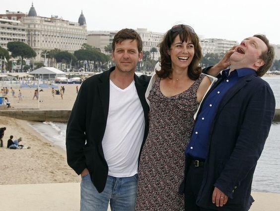Jason Hughes, Fiona Dolman & Neil Dudgeon in Cannes, April 2 2012 Midsomer Murders