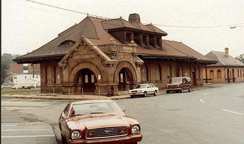 Portland , Maine , Usa - -Grand Trunk Railway Station - Pc Vintage