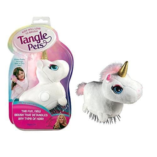 Tangle Pets Sparkles The Unicorn The Detangling Brush In A Plush As Seen On Shark Tank Detangling Brush Pet Brush Detangler