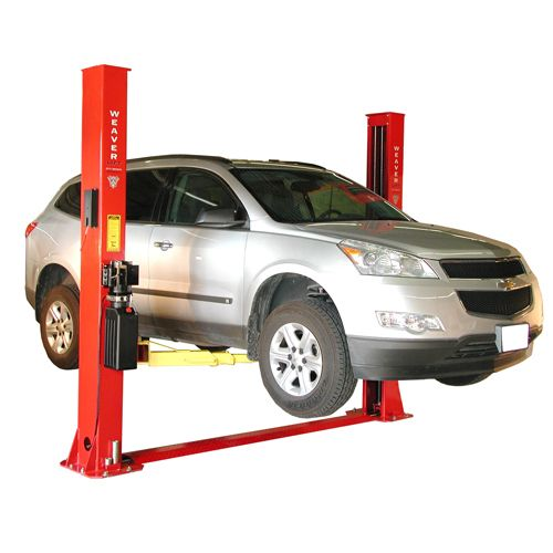 Weaver W9f 3d Baseplate 2 Post Auto Lift Lifted Cars Two Post Car Lift 2 Post Car Lift