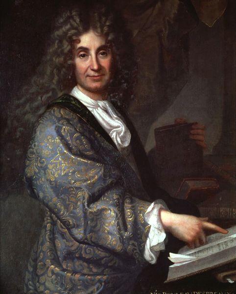 Jean-Baptiste Santerre, Portrait of Nicolas Boileau-Despréaux, c. before 1711: