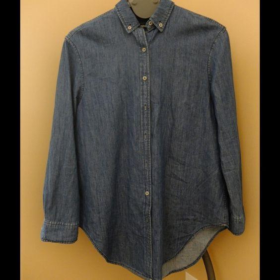 BDG denim tunic Thick denim, soft, loose almost dolman type sleeve BDG Tops Tunics