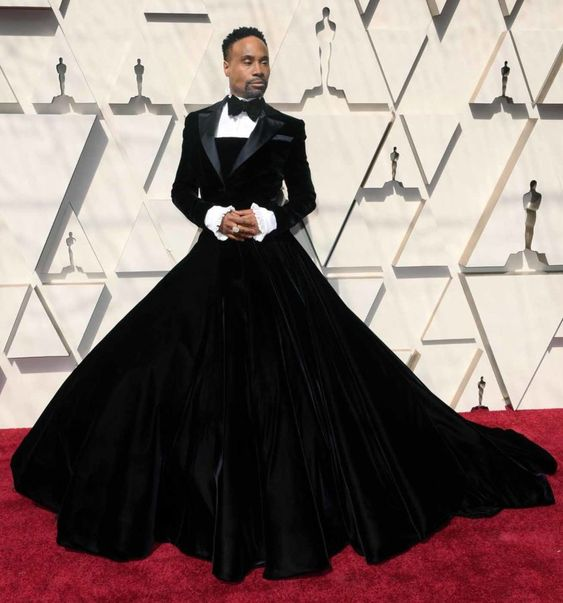 billy porter in christian siriano, oscars 2019