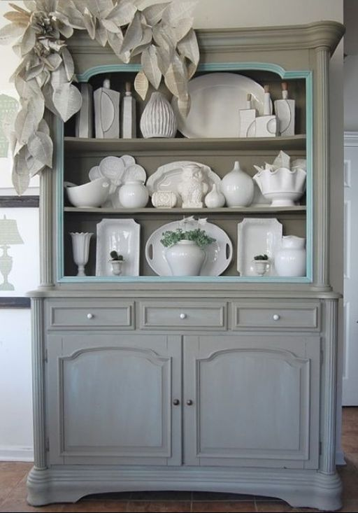 17 Best Hutch Display Images On Pinterest