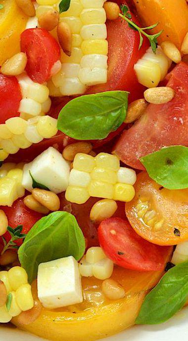 Tomato caprese, Caprese salad and Tomatoes on Pinterest