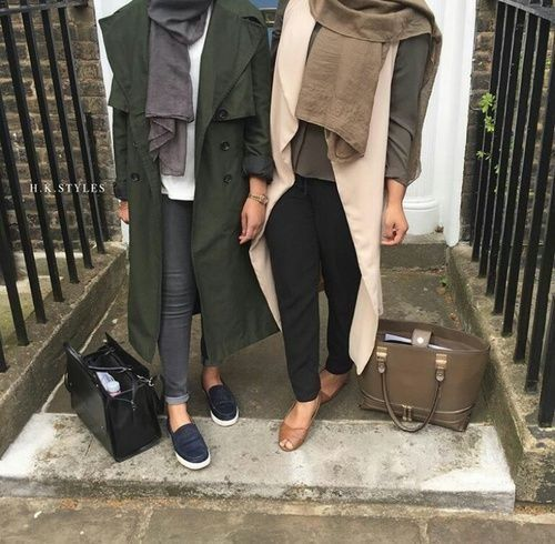 chic hijab fall looks- Fall hijab outfits in warm colors http://www.justtrendygirls.com/fall-hijab-outfits-in-warm-colors/