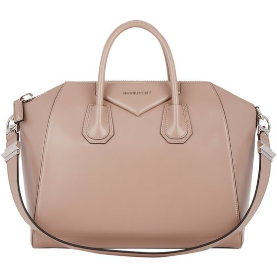 Givenchy Medium Antigona Duffel ($2,295) ❤ liked on Polyvore featuring bags, luggage, purses, givenchy, handbags and nude