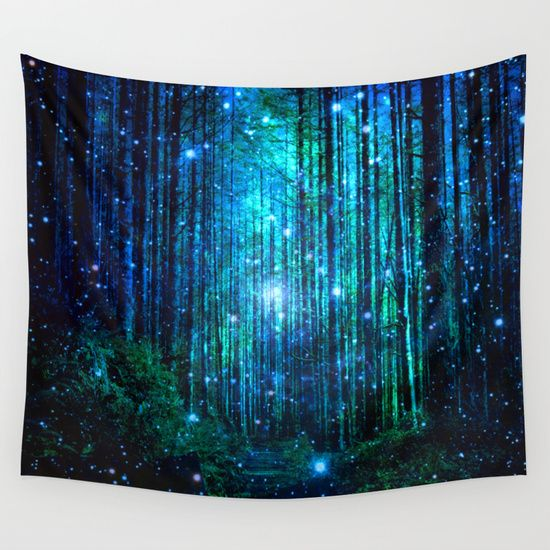 Buy magical path by haroulita as a high quality Wall Tapestry. Worldwide shipping available at Society6.com. Just one of millions of products available.