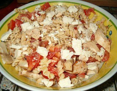 Les recettes de Nag: Salade de pâtes à la feta