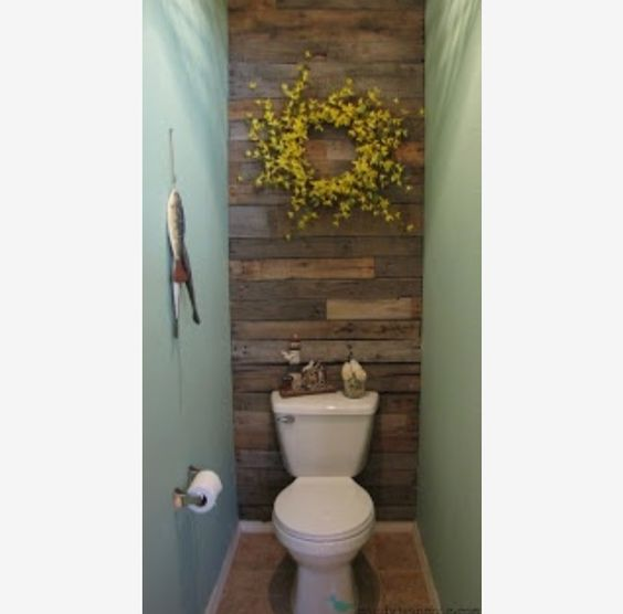 accent wall in small bathroom decor pinterest small