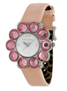 http://www.amazon.com/exec/obidos/ASIN/B004BCV8WC/pinsite-20 Betsey Johnson Women's BJ2193 Flower Shaped Stone Case Strap Watch Best Price Free Shipping !!! OnLy NA$