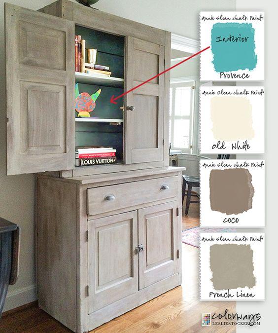 Stepback Cupboards Annie Sloan Chalk Paint Old White