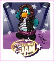 Rocky from Club Penguin!!! @Zendaya Coleman
