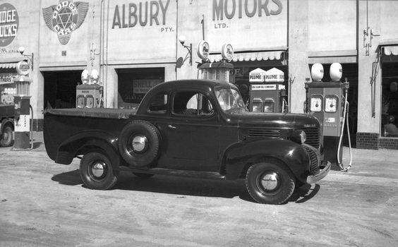 Australian Dodge 1/2ton Coupe Ute.