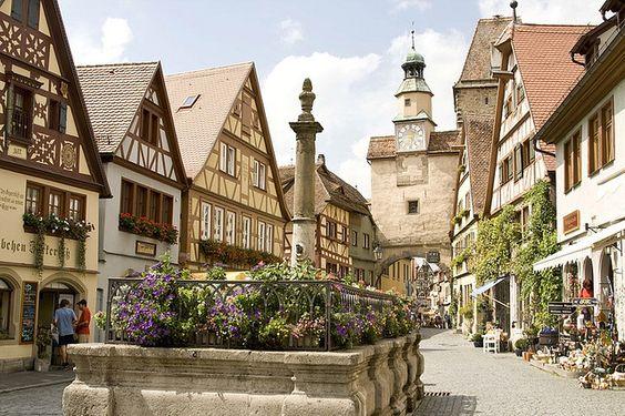 Ротенбург-на-Таубері, Баварія, Німеччина