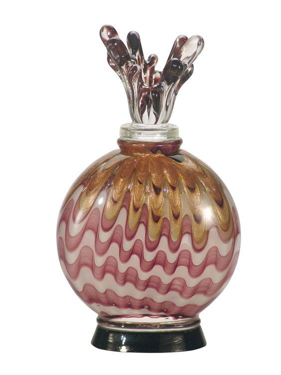 Dale Tiffany Napa Vino Perfume Bottle