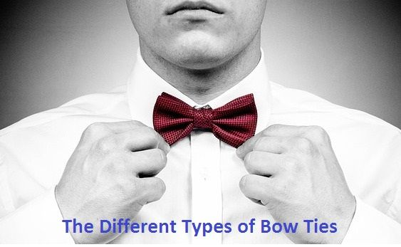 types of bow tie