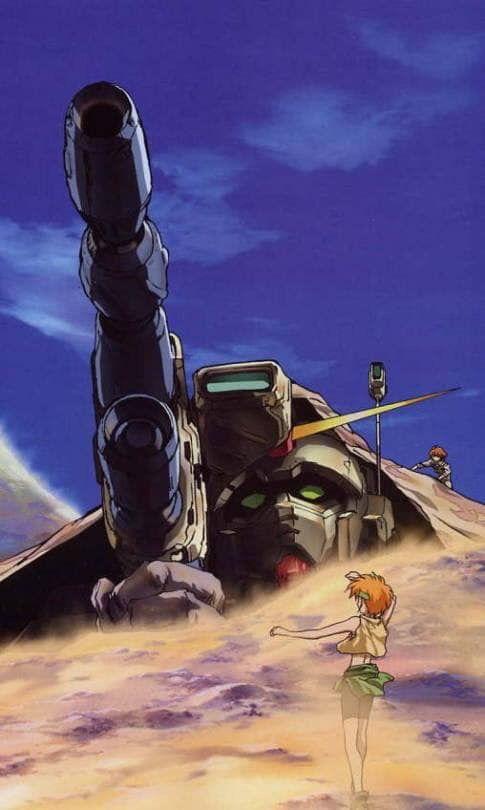 Gundam The 08th Ms Team Gundam Art Gundam Retro Anime
