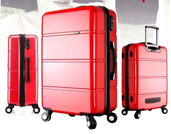 Reisekoffer Farbe rot