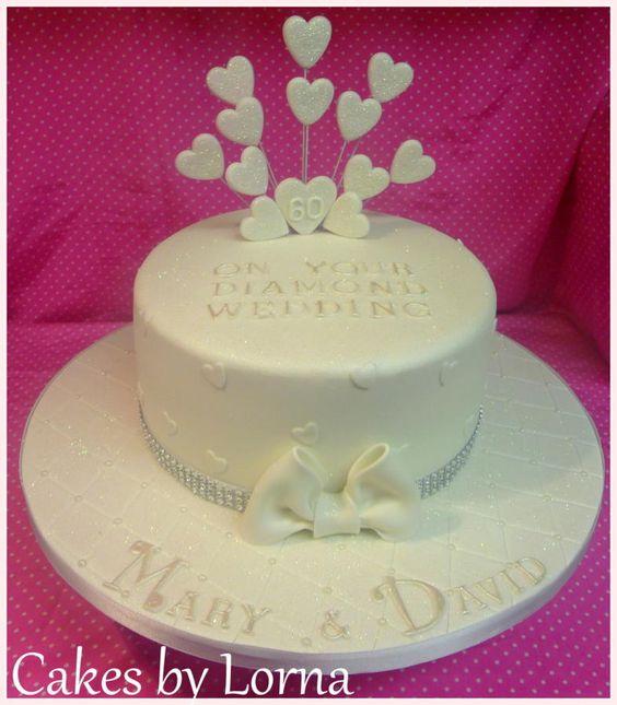 Diamond Anniversary Cake Images : Diamond Wedding Anniversary Cake wedding Pinterest ...