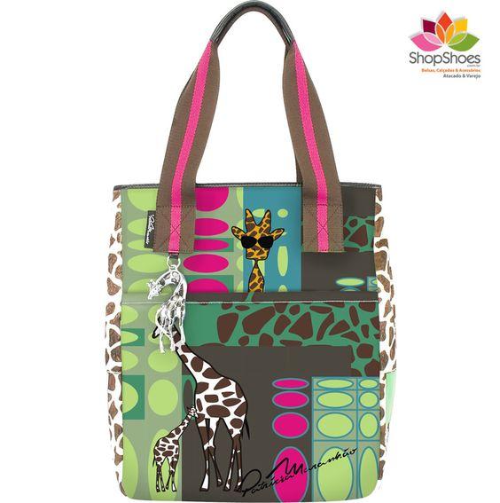 Bolsa Girafa by Patrícia Maranhão   www.shopshoes.com.br