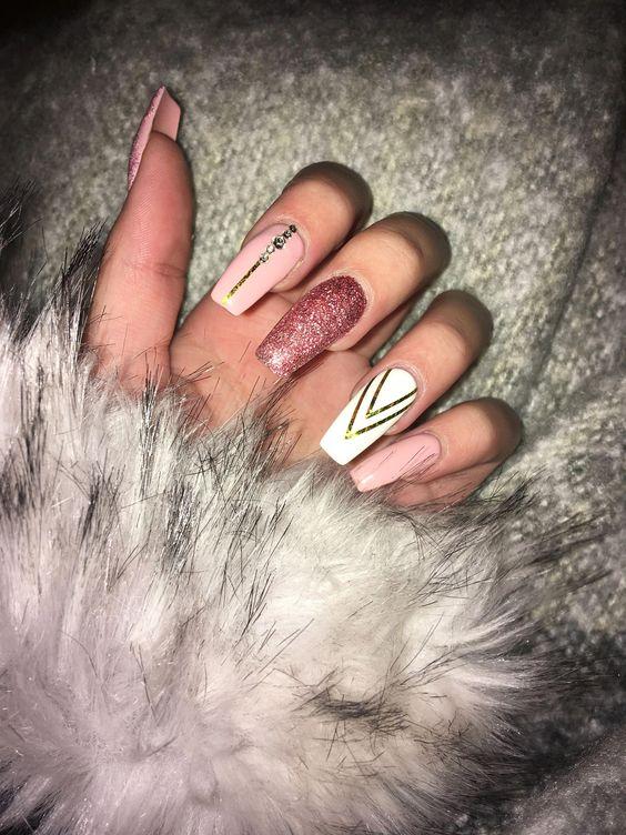 Gorgeous nail art design