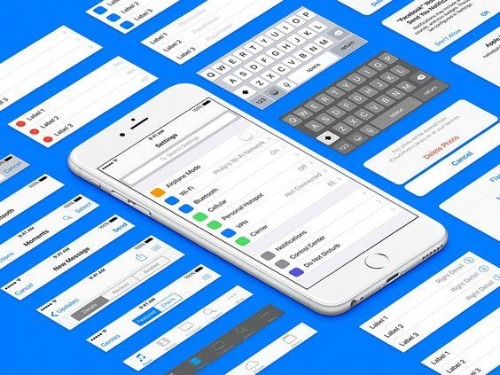 Wer auf der Suche nach einem vollständigem iOS9-Template ist, wurde gerade fündig. Wo das kostenlose Sketch-Template heruntergladen werden kann, lest ihr im Artikel.