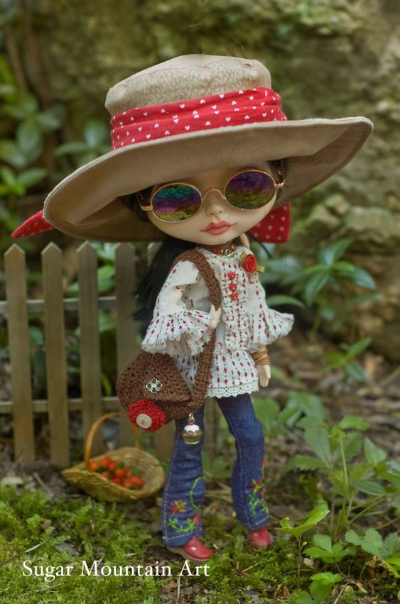 Bohemian Faux Suede Hat For Your Free Spirited Blythe