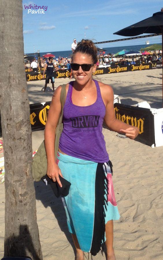 Pro beach volleyball player Whitney Pavlik wins Florida Open