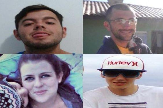 Três jovens morrem em acidente de carro na madrugada deste sábado, em Florianópolis montagem/DC