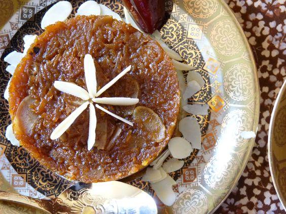 Gâteau à la carotte et à la cardamome