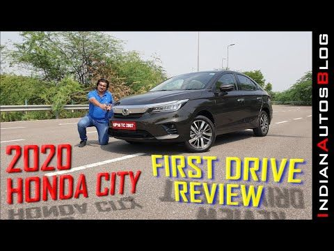 2020 Honda City First Drive Review Hindi Youtube In 2020 Honda City First Drive Honda
