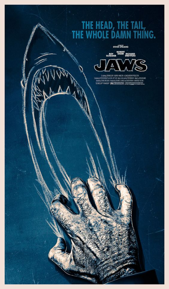 Incredible 40th Anniversary Jaws Poster Pays Tribute to Quint