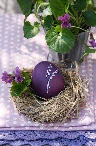 Purple easter egg image via Celebrating Life on Facebook at www.facebook.com/CelebratingLifeNow