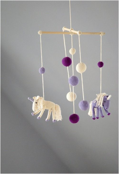 artpockets:  Crochet Unicorns Mobile  https://www.etsy.com/treasury/MTUyNTQyNjZ8MjcyNjk4MzY2OA/november-finds