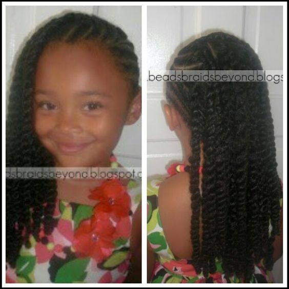 Amazing Little Girl Hairstyles Girl Hairstyles And Twists On Pinterest Hairstyles For Women Draintrainus