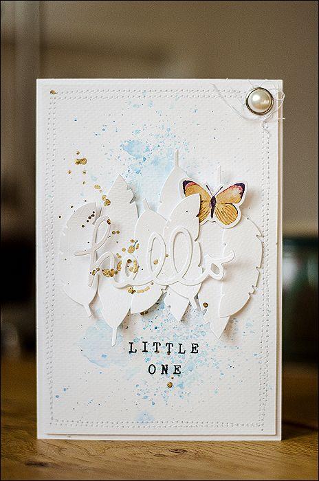 Cardmaking, Scrapbooking, BigShot, Baby