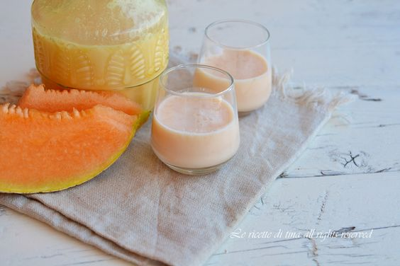 liquore melone,liquore cremoso al melone,liquore crema di melone,liquore fatto in casa,le ricette di tina