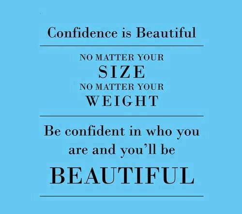 Confidence is Beautiful : get to know who you are, and love yourself!
