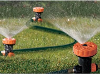 Multi Head Portable Above Ground Sprinkler For The Home Pinterest Above Ground Sprinkler