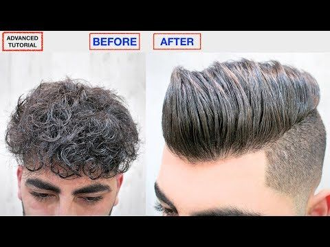 Youtube Curly To Straight Hair Straight Hairstyles Curly Hair Treatment