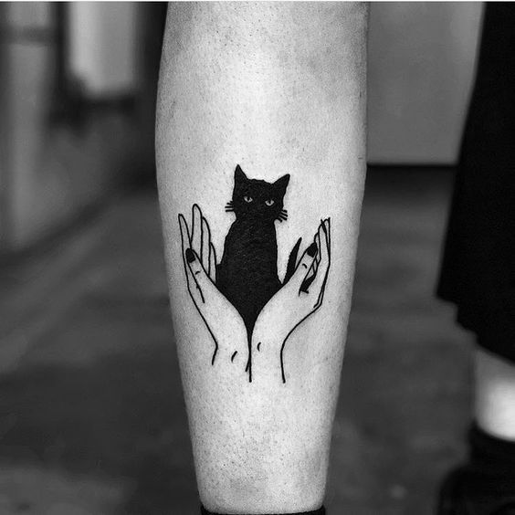 37 Cat Tattoos Designs And Ideas For Cat Lovers Page 12 Of 37 With Images Cat Tattoo Black Cat Tattoos Cat Tattoo Designs